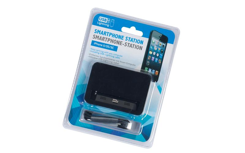 Βάση Φόρτισης Dock Station Κινητών Τηλεφώνων - iPhone 5/5S/5C Μαύρο - Cb gadgets   φορτιστές