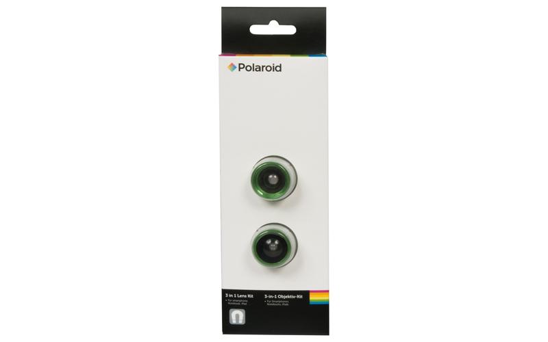 Polaroid Σετ Φακών 3 σε 1 για Smartphones, Notebooks και iPads Πράσινο - Polaroi τεχνολογία   εικόνα