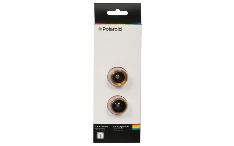 Polaroid Σετ Φακών 3 σε 1 για Smartphones, Notebooks και iPads Πορτοκαλί - Polar τεχνολογία   εικόνα