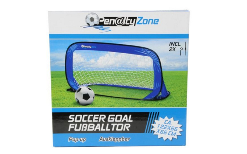 Penalty Zone Πτυσσόμενο Παιδικό Τέρμα Ποδοσφαίρου Pop-up 66x66x122cm κατάλληλο γ παιχνίδια   παιχνιδια για εξωτερικούς χώρους