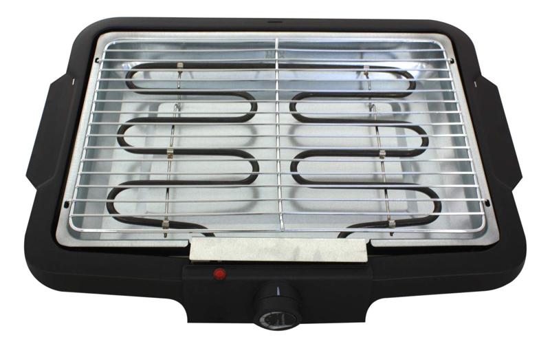 Kynast Exklusiv Μεταλλικό Ηλεκτρικό Barbeque Grill 2000W 36.5x25x8.5cm με αφαιρο σκεύη μαγειρικής   γκριλιέρες ψηστιέρες
