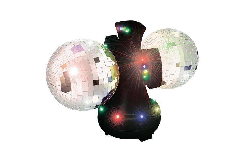 Party Fun Lights 86489 Φωτιστικό LED με 2 Ντισκομπάλες Καθρέπτη 12V - Party Fun  τεχνολογία   disco party
