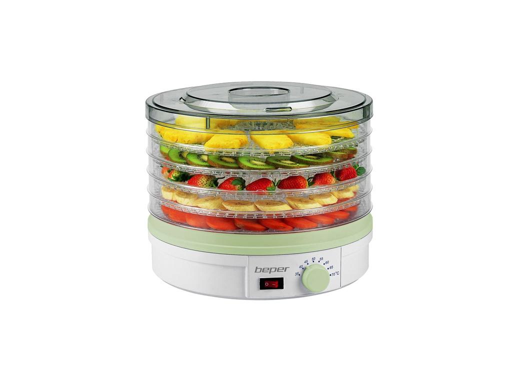 Beper 90.506 Αποξηραντής τροφίμων, φρούτων και λαχανικών 245W με 5 Ράφια - Beper για την κουζίνα   μικροσυσκευές