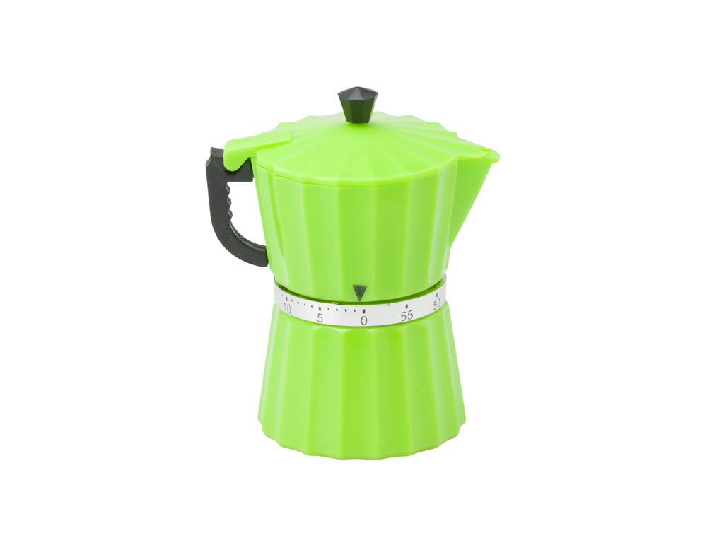 Lifetime Cooking Χρονόμετρο κουζίνας 60 λεπτών σε σχέδιο espressiera 6x7x10cm, 9 ηλεκτρικές οικιακές συσκευές   καφετιέρες και είδη καφέ
