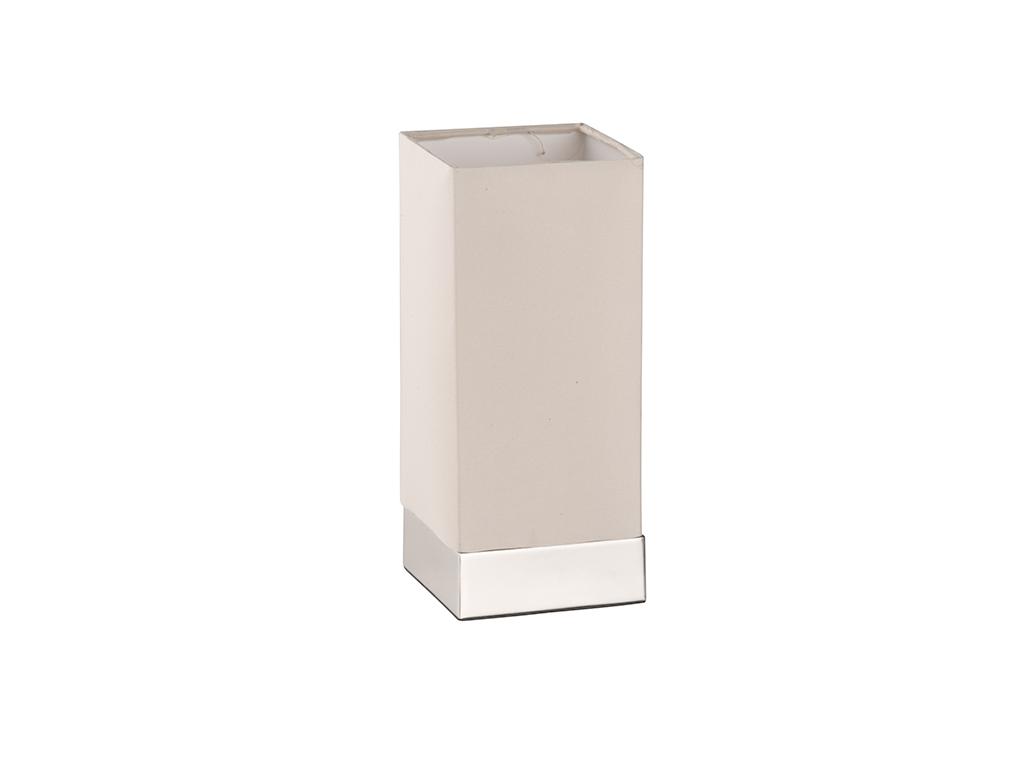 Grundig 99622 Επιτραπέζιο Φωτιστικό - Υφασμάτινο Αμπαζούρ 24cm ύψους με λειτουργ διακόσμηση και φωτισμός   φωτιστικά