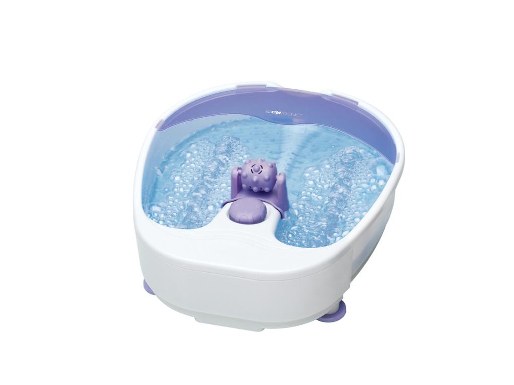Clatronic Συσκευή Μασάζ Ποδιών-Ποδόλουτρο 90W σε Μωβ/Λευκό χρώμα - CLATRONIC υγεία  και  ομορφιά   μασάζ