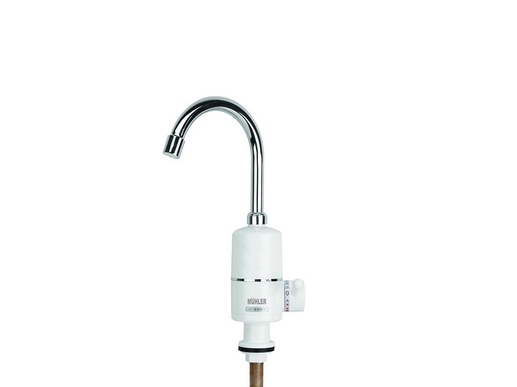 Muhler FWH-3010T Ηλεκτρικός Ταχυθερμαντήρας Νιπτήρα ή Νεροχύτη 3000W για Άμεση Θ θέρμανση και κλιματισμός   ταχυθερμαντήρες