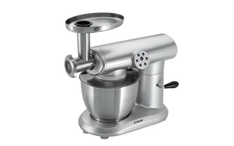 Bomann Κουζινομηχανή, Μίξερ, Μπλέντερ (mixer-blender) Κρεατομηχανή 1000 Watt με  μικροσυσκευές   κρεατομηχανές