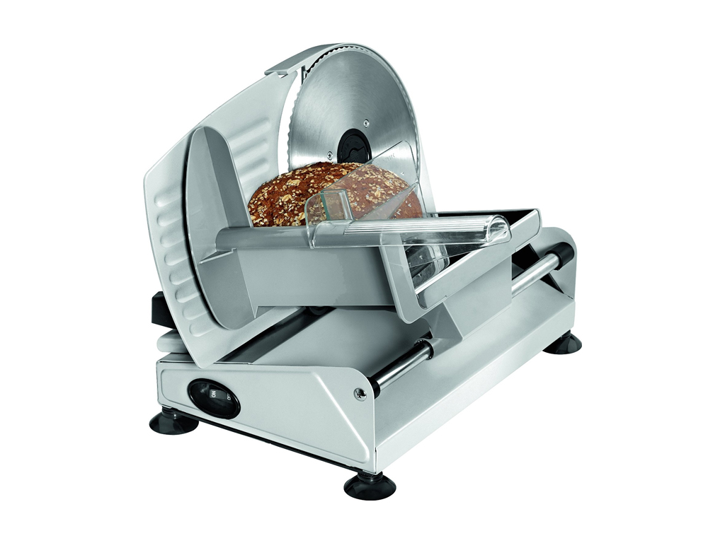 Clatronic Μεταλλική Μηχανή Κοπής Ψωμιού, Αλλαντικών ή Τυριών 150W με Λεπίδα από