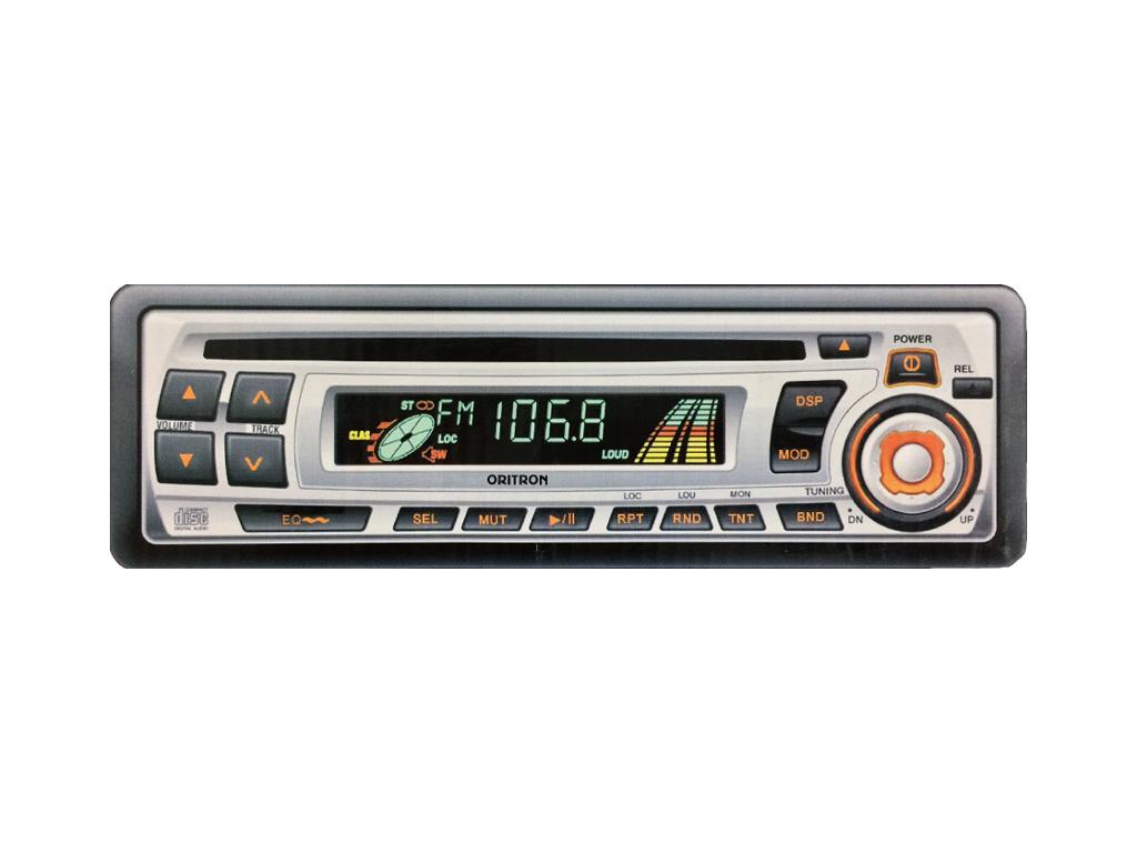Oritron CD-1133 Ράδιο - CD Player 2x7W Αυτοκινήτου AM/FM-MPX - Oritron τεχνολογία   cd   mp3 4   dvd   media players