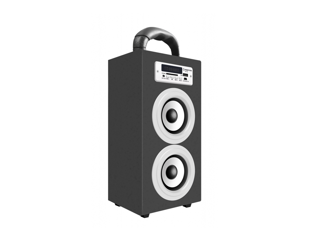 Manta Φορητό Bluetooth 2.1 Ηχοσύστημα με ενσωματωμένο με FM/Ράδιο, εισόδους USB/ τεχνολογία   ηχεία