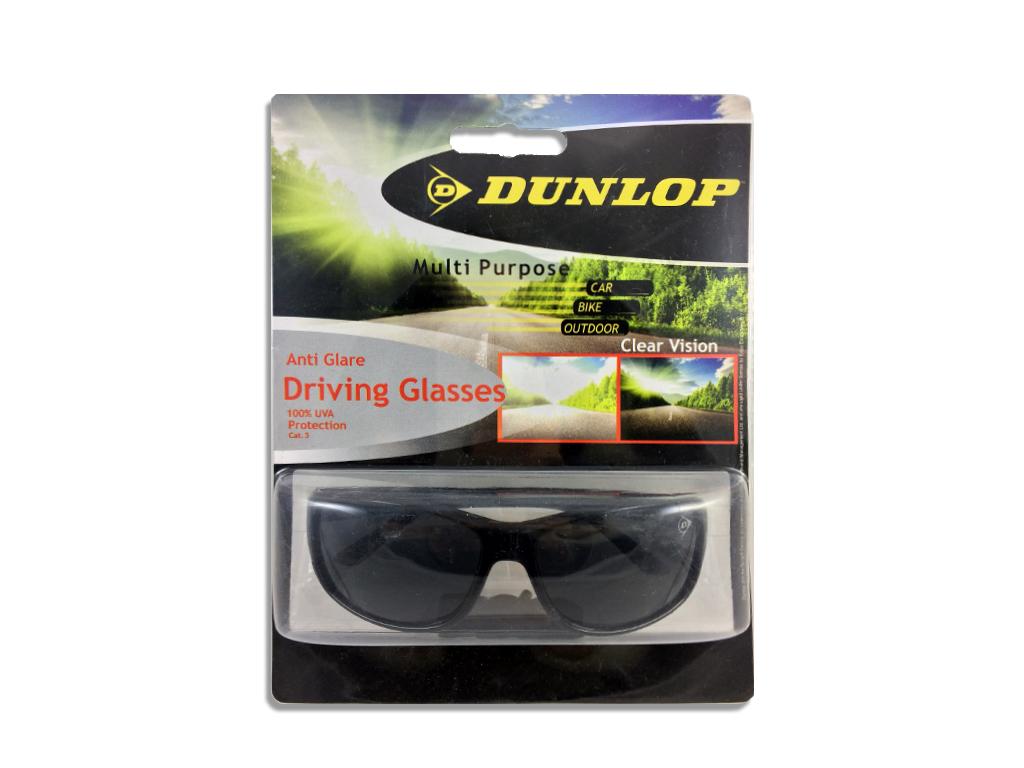 Dunlop 41469 Γυαλιά Ηλίου Ιδανικά για την Οδήγηση με Μαύρο Σκελετό, Μαύρο φακό,  αξεσούαρ   γυαλιά ηλίου
