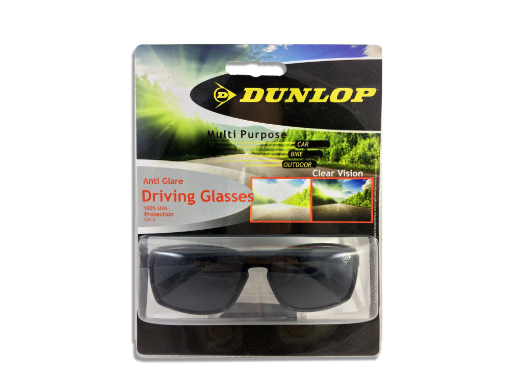 Dunlop 41469 Γυαλιά Ηλίου Ιδανικά για την Οδήγηση με Μαύρο Σκελετό, Μαύρο φακό,  υγεία  και  ομορφιά   οπτικά γυαλιά