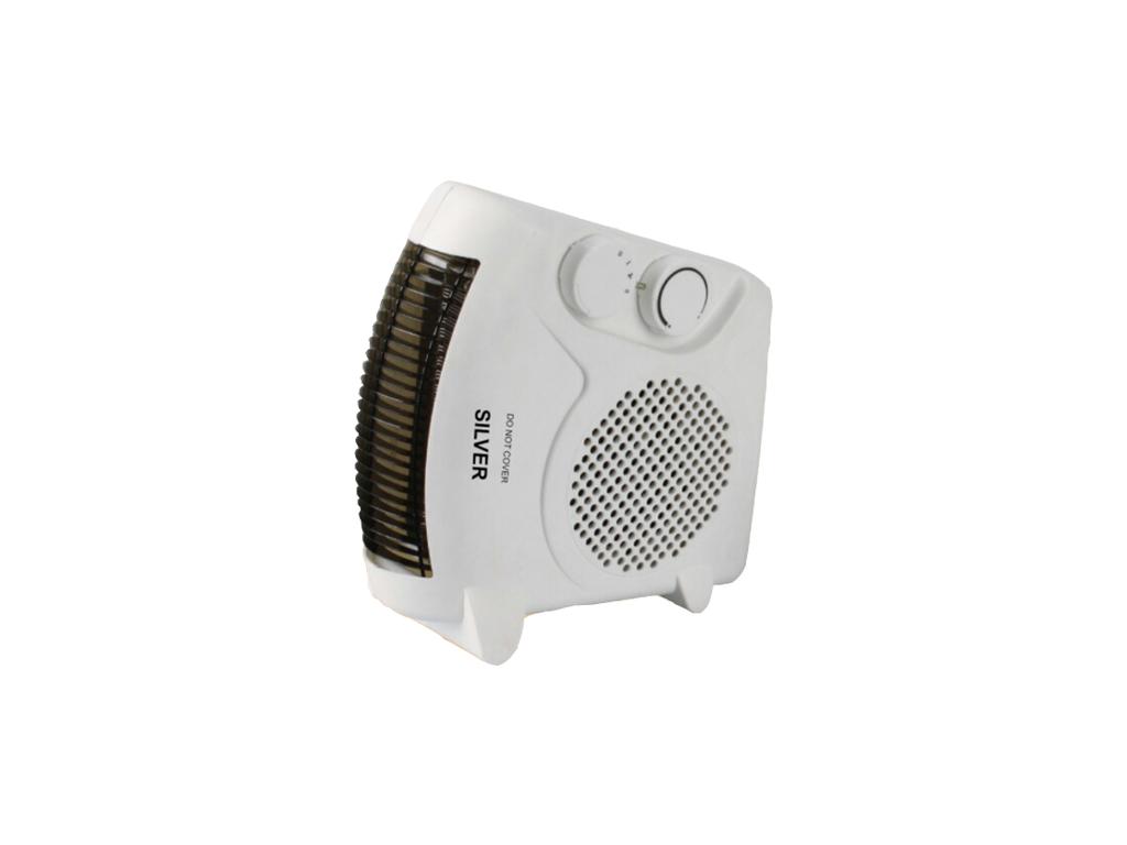 Silver Αερόθερμο δαπέδου 2000W με Λειτουργία Ψυχρού αέρα σε Λευκό χρώμα, FH06 -  θέρμανση και κλιματισμός   θέρμανση