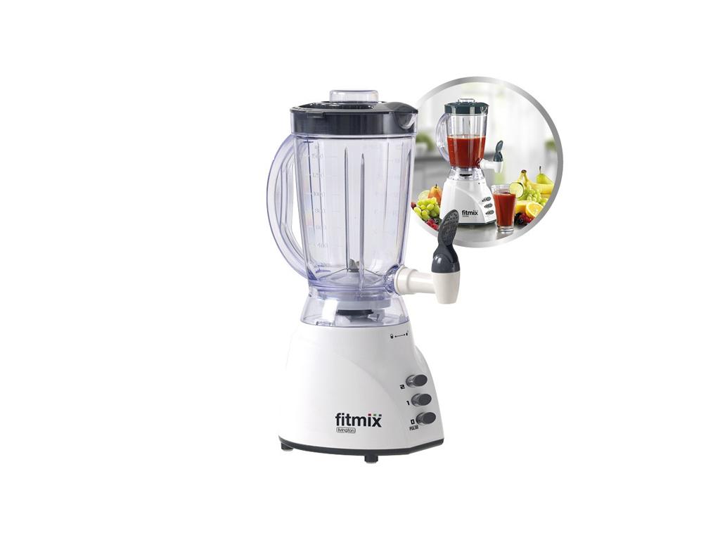 Livington Fitmix FIB003 Μπλέντερ (Blender) 2 σε 1 600W Χωρητικότητας 1.5Lt με 2  ηλεκτρικές οικιακές συσκευές   μπλέντερ