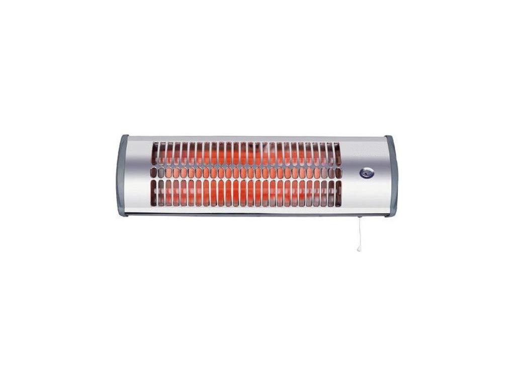 Επιτοίχια Ηλεκτρική Θερμάστρα Σόμπα Χαλαζία Μπάνιου 1500W, LX-2900A - Hotty θέρμανση και κλιματισμός   θέρμανση