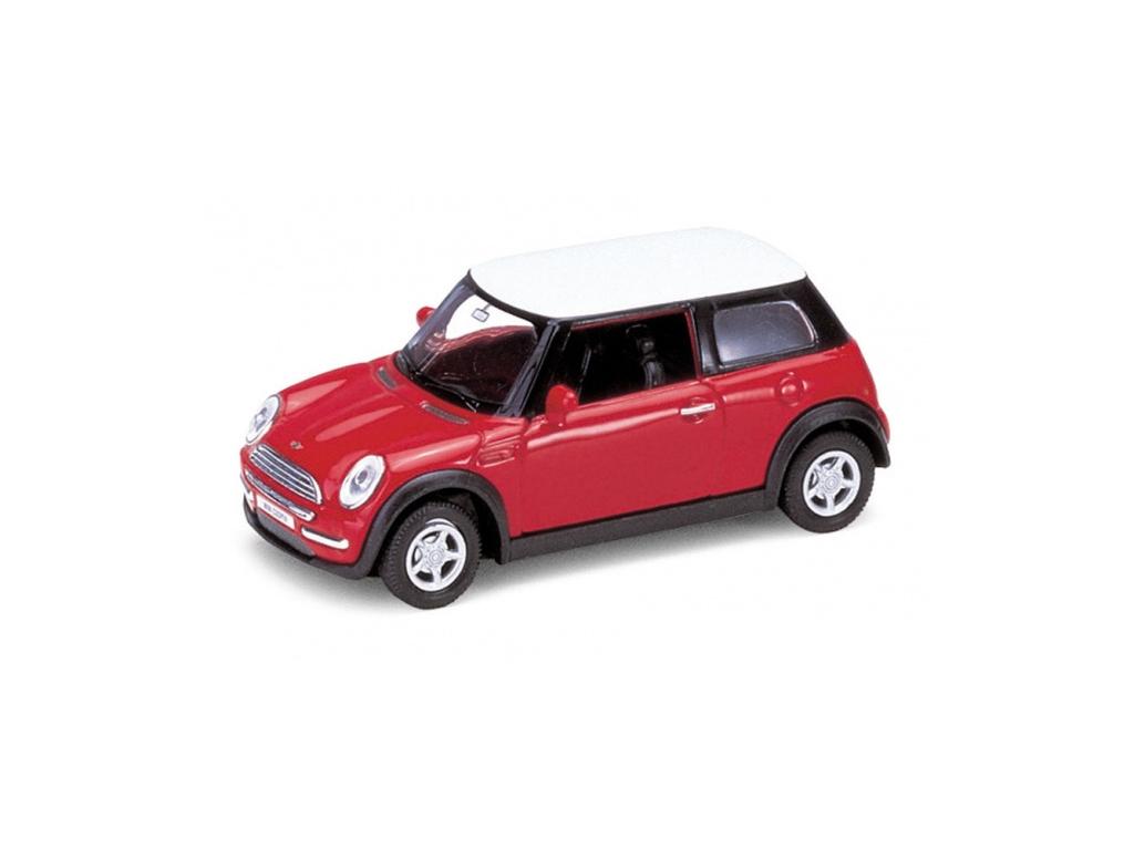 Welly Μεταλλικό Αυτοκίνητο Μινιατούρα MINI COOPER σε κλίμακα 1:38 Official Licen παιχνίδια  παιδί  και  βρέφος   οικολογικά παιχνίδια