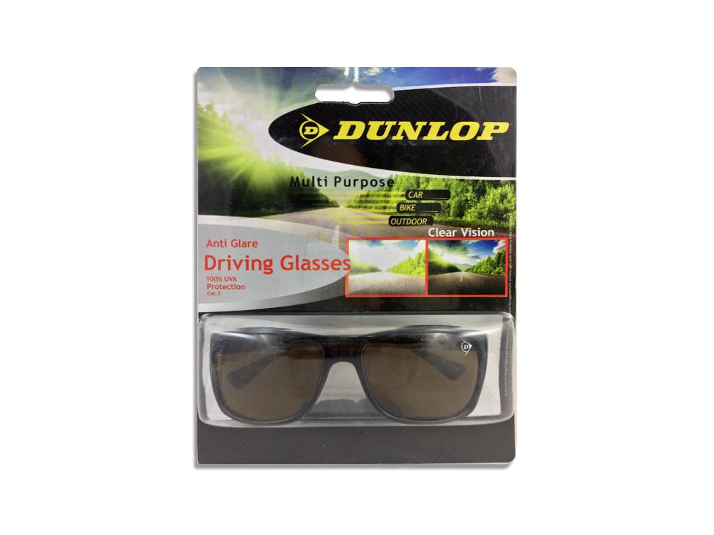 Dunlop 41469 Γυαλιά Ηλίου Ιδανικά για την Οδήγηση με Σκελετό Ταρταρούγα, Καφέ φα αξεσούαρ   γυαλιά ηλίου