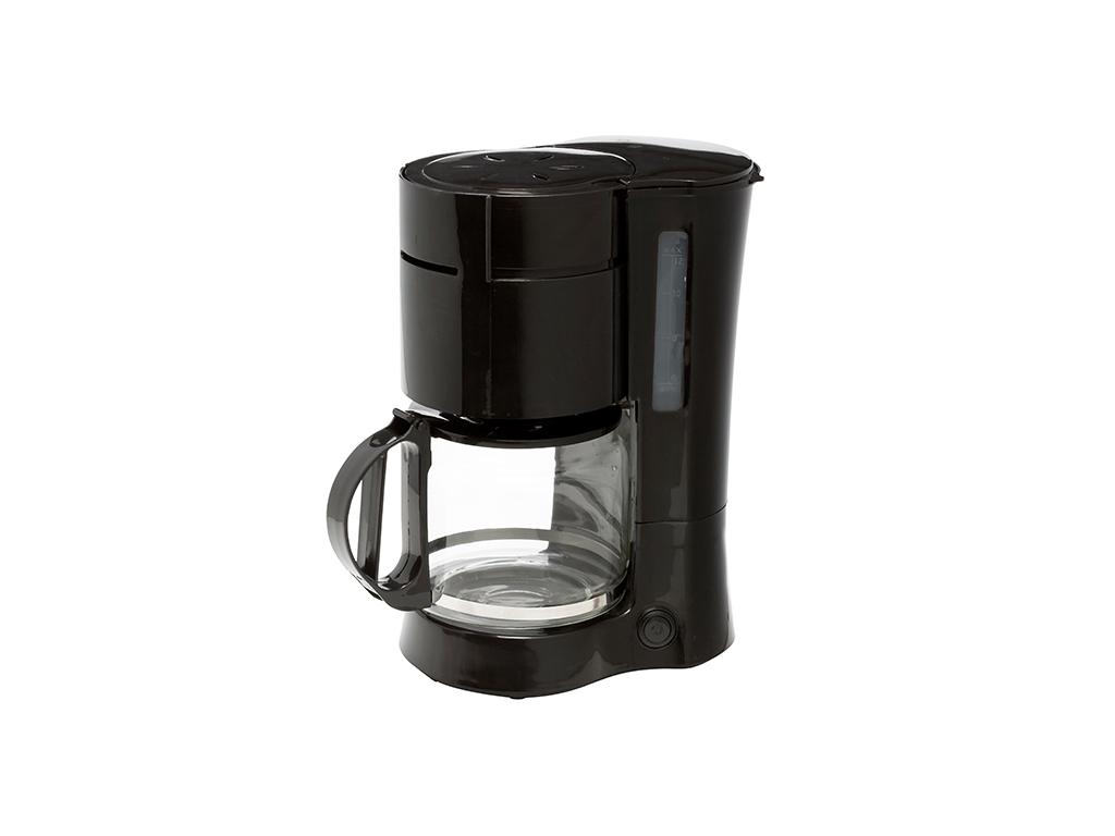 Telefunken 96324 Καφετιέρα Φίλτρου 1000W 1,2lt για 5 φλυτζάνια σε Μαύρο χρώμα -  μικροσυσκευές   καφετιέρες