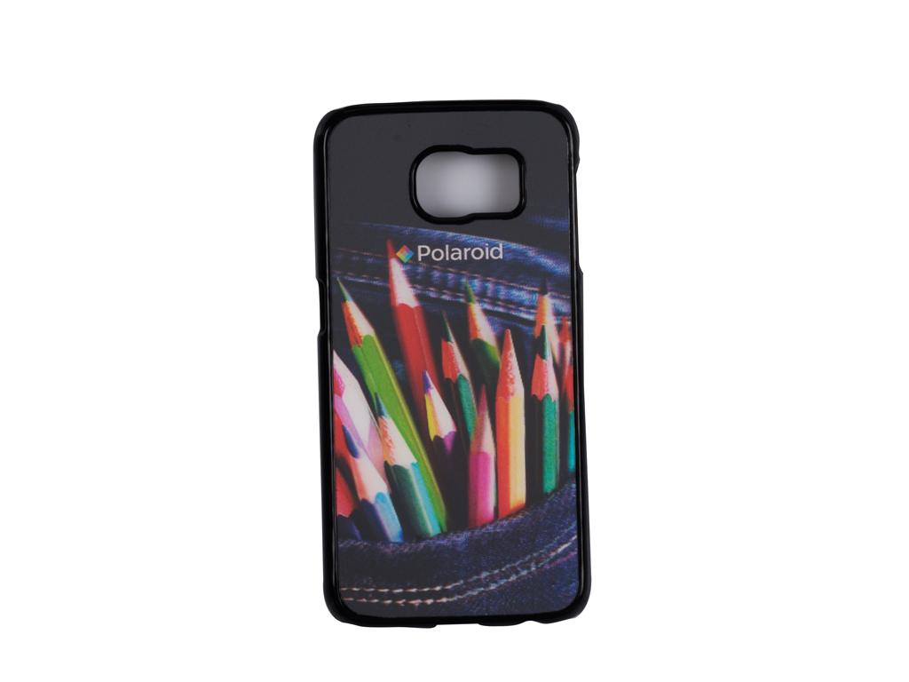 Polaroid 98046 Σκληρή Λεπτή 3D Θήκη Προστασίας Hard Shell για Samsung Galaxy S6 με σχέδιο Ξυλομπογιές