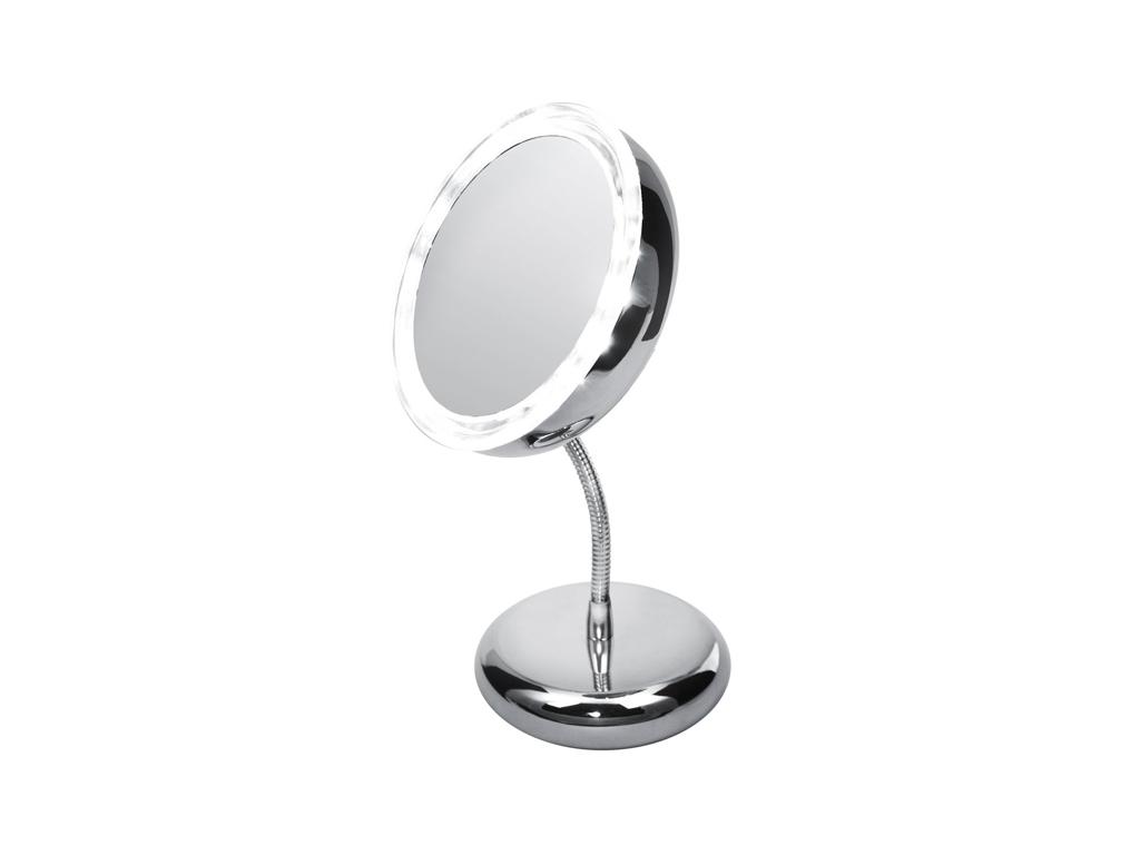 Adler AD2159 Φωτιζόμενος Μεγεθυντικός Καθρέφτης Led διαμέτρου 15cm με Αφαιρούμεν υγεία και ομορφιά   καθρέφτες