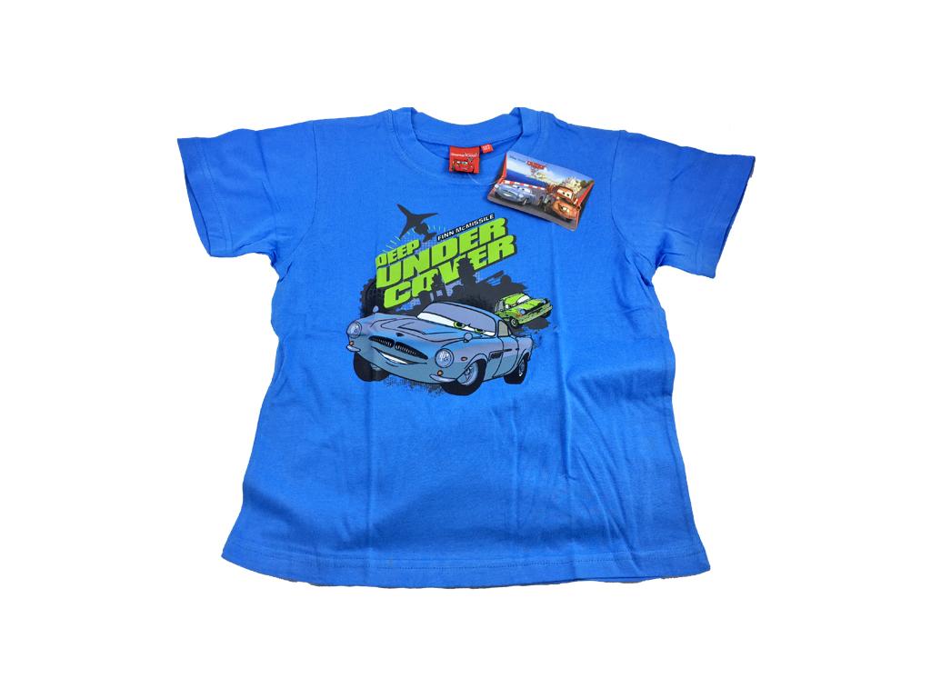 fe27c4b03279 Disney 32127 Παιδικό Αγορίστικο Κοντομάνικο Μπλουζάκι Cars με Λαιμόκοψη σε  Γαλάζ