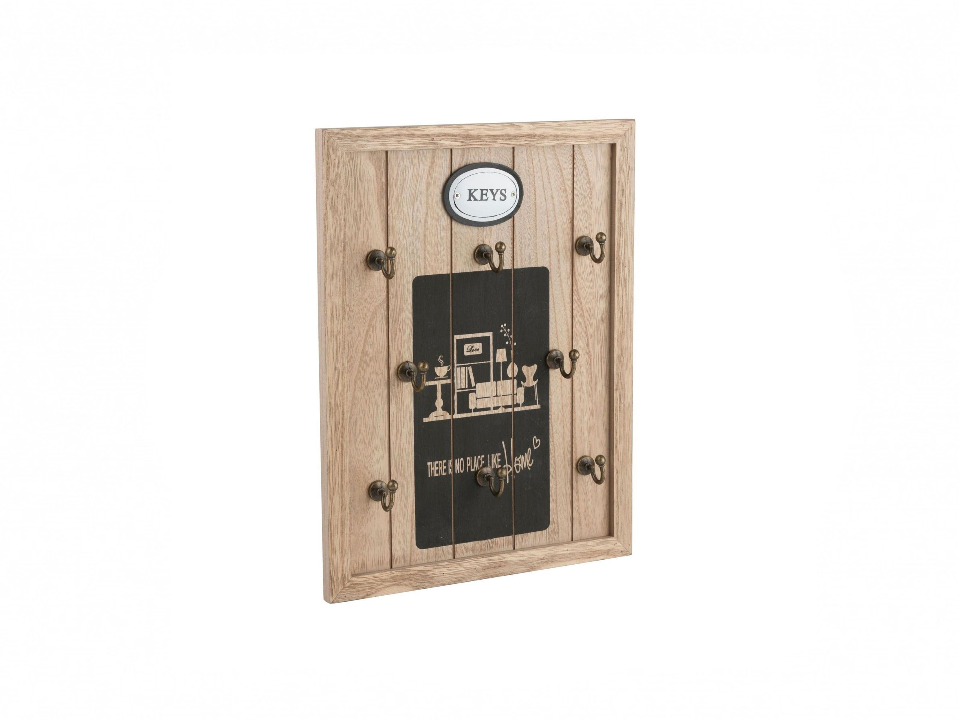 "Arti Casa 89646 Ξύλινη Vintage Κλειδοθήκη 8 θέσεων 34.5x27x4cm με θέμα ""There is"