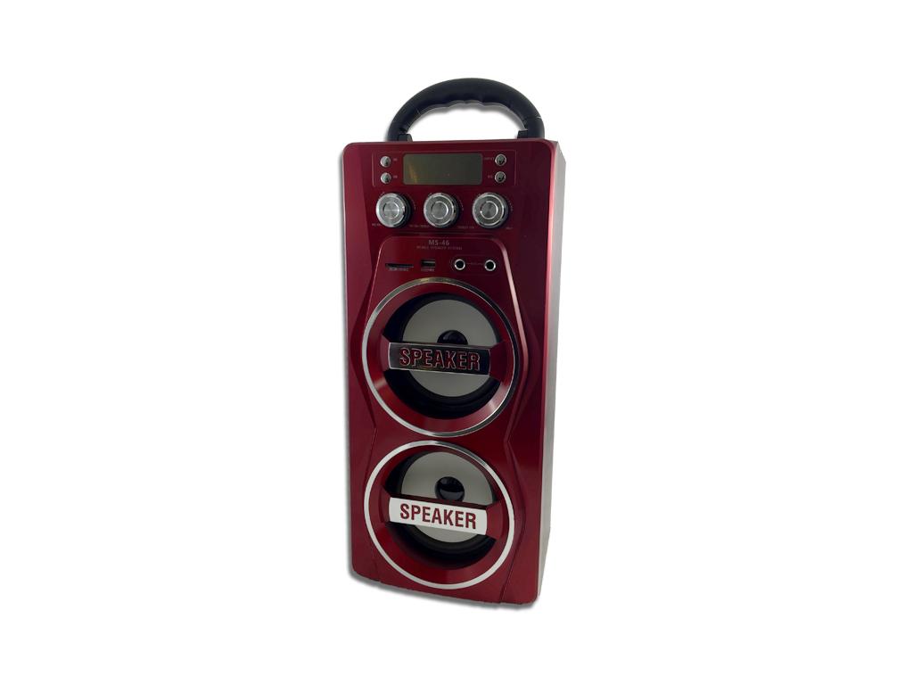 Φορητό Ασύρματο Επαναφορτιζόμενο Ηχείο Bluetooth USB/SD/MIC/AUXμε Ράδιο FM 2x15W τεχνολογία   ηχεία