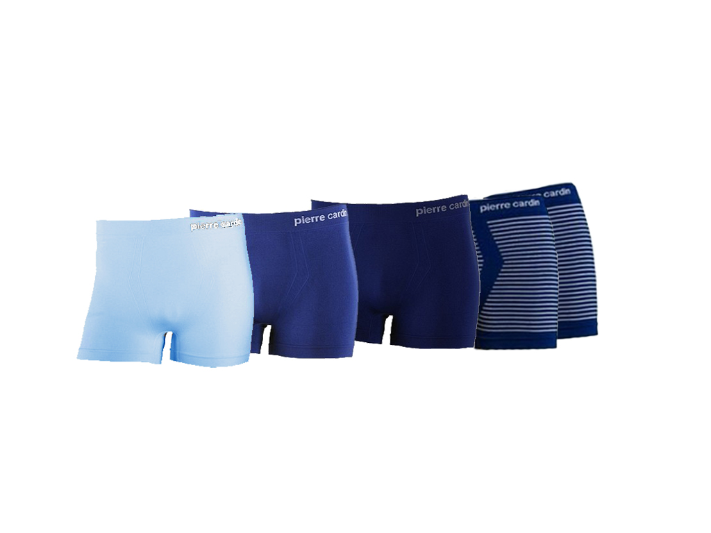 aa531c8a657 Pierre Cardin 076647 Σετ 5 boxers Ανδρικά Πακέτο 5 τμχ. Boxer 5-pack που  αποτελείται από 2 Μπλε Navy με ...