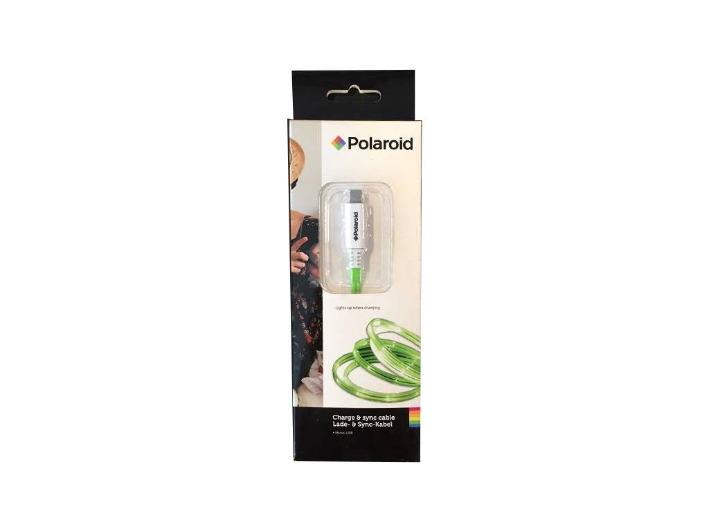 Polaroid 98218 Φωτιζόμενο LED Καλώδιο 1m για Smartphones Micro USB για Φόρτιση,  τεχνολογία   καλώδια