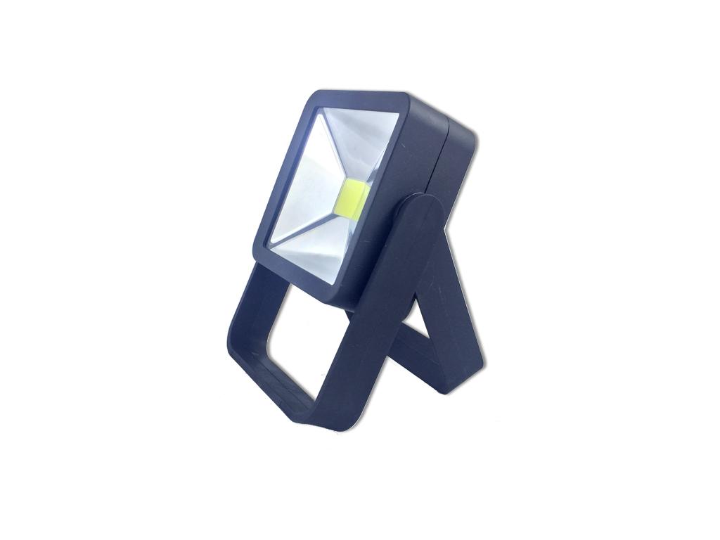 Προβολάκι 3W με Βάση αναδιπλούμενη 8x3.5x12.5cm Χρώμα Μαύρο - OEM διακόσμηση και φωτισμός   led φωτισμός