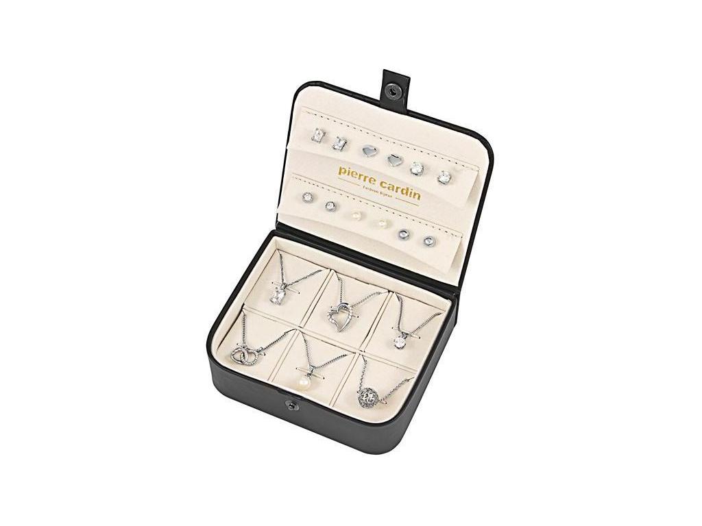 Pierre Cardin PXX0148Q Σετ συλλογή Κοσμημάτων με 6 Κολιέ και 6 Ζευγάρια Σκουλαρί γυναίκα   αξεσουάρ   κόσμημα