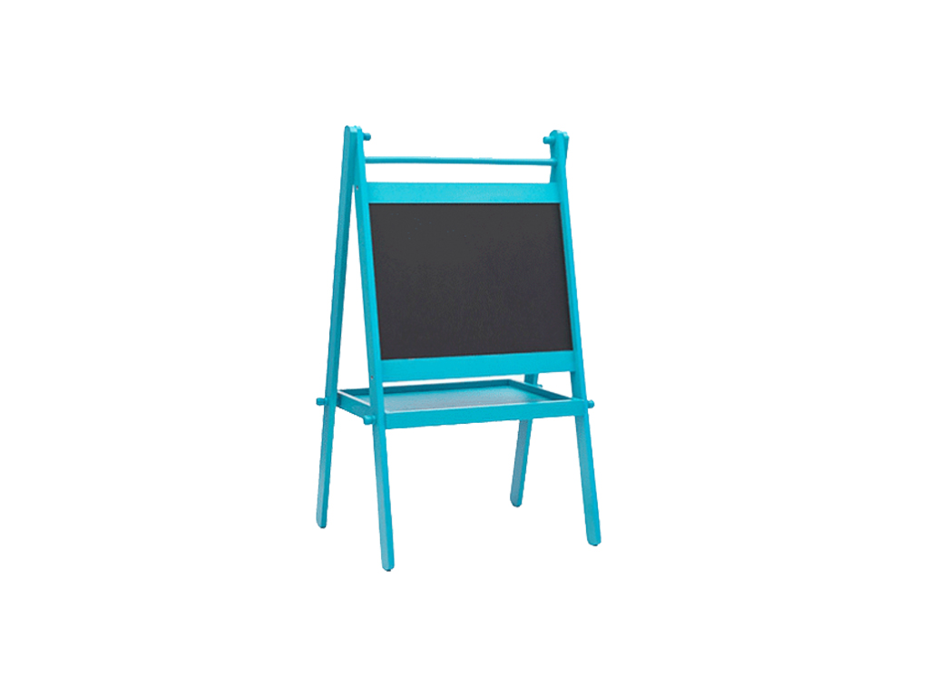 Διπλός Παιδικός Πίνακας σε 2 χρώματα, Nuovo H4530292 Μπλε - Nuovo παιχνίδια  παιδί  και  βρέφος   έξυπνα   εκπαιδευτικά παιχνίδια