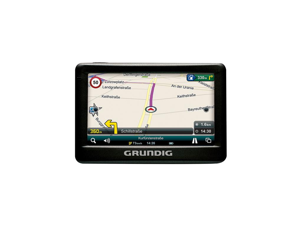 Grundig GPS navigation system M1 Σύστημα Πλοήγησης με 4,3 ίντσες οθόνη για το Αυ αυτοκίνητο  μηχανή  και  ποδήλατο   αξεσουάρ αυτ του