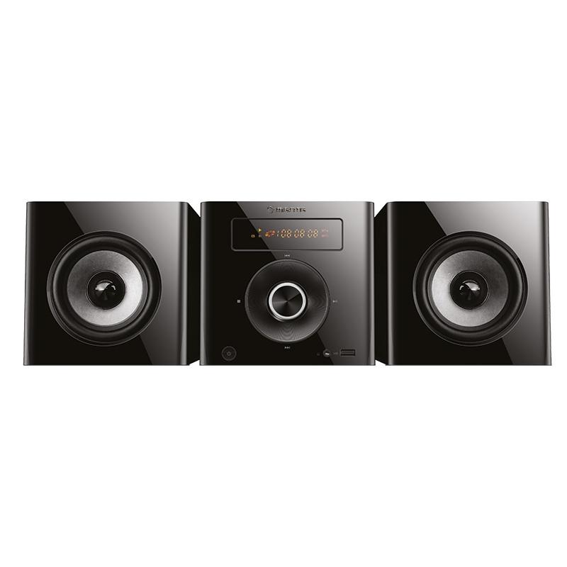 Manta Ηχοσύστημα με USB/AUX/CD/MP3/FM και 2 Ηχεία σε Μαύρο χρώμα,MMS001 - Manta τεχνολογία   ηχεία multimedia