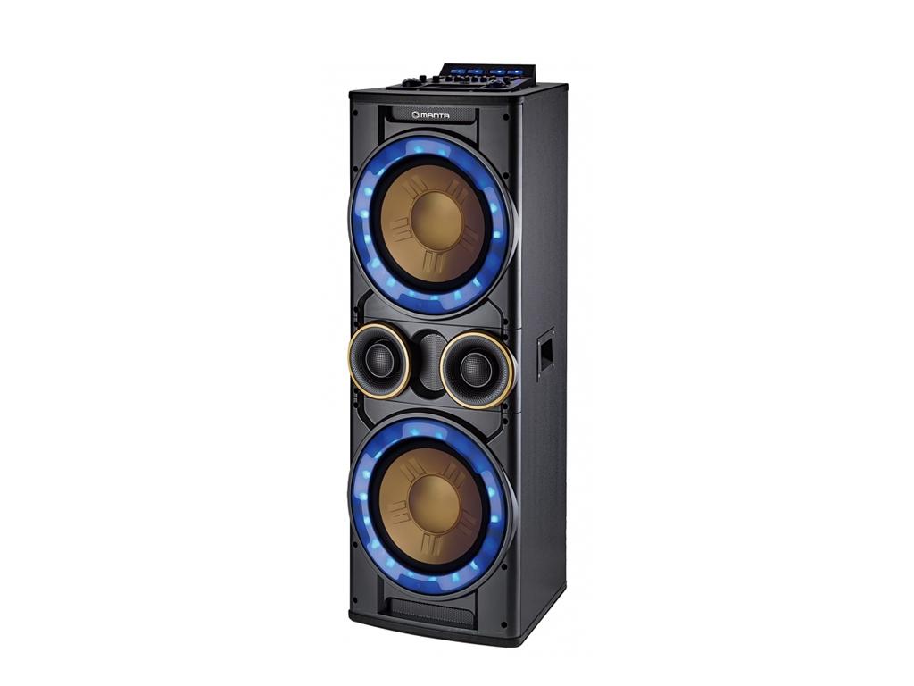 Manta CYCLOP Karaoke Καραόκε Ηχοσύστημα για καραόκε 3500W P.M.P.O. Bluetooth LED εκδηλώσεις και γιορτές   καραόκε