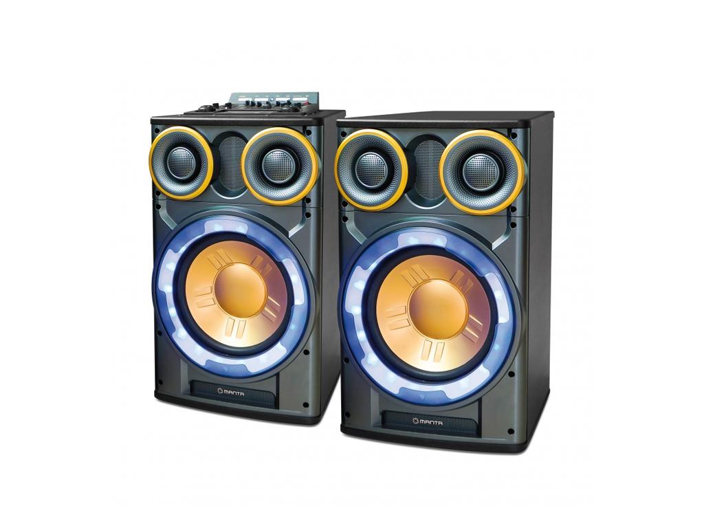 Manta MORFEUS Karaoke Καραόκε Ηχοσύστημα για καραόκε 3500W P.M.P.O. Bluetooth με εκδηλώσεις και γιορτές   καραόκε