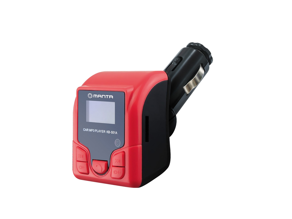 Manta Πομπός Αυτοκινήτου Ασύρματος 12V για μετάδοση μουσικής μέσω MicroSD, USB κ