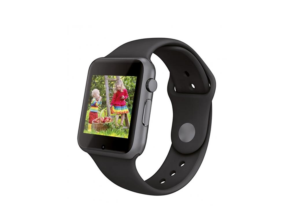 Manta HARPO SmartWatch - Έξυπνο Ρολόι που συνδέεται με το κινητό, οθόνης 1,54