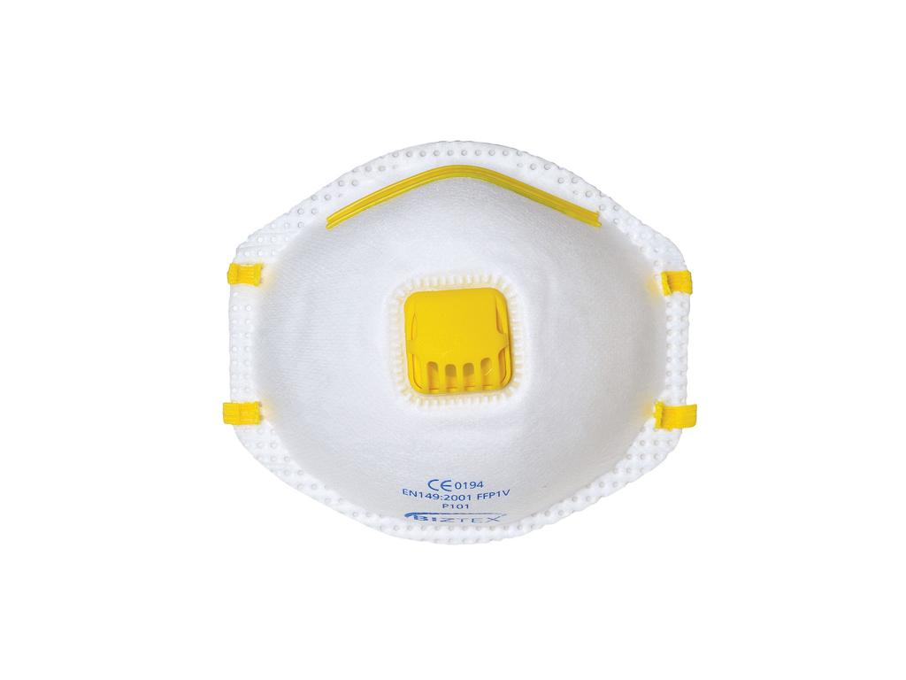 Portwest Μάσκα με βαλβίδα εκπνοής σε Λευκό χρώμα, P101 - Portwest