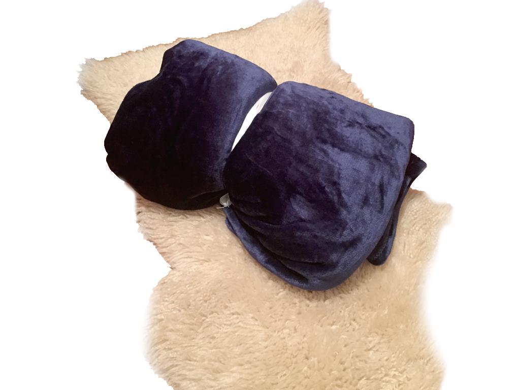 Μαλακή και Ζεστή Διπλή Κουβέρτα fleece 200x230 cm σε Μπλε χρώμα - OEM λευκά είδη   χαλιά και κουβέρτες