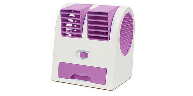 Mini Air Cooler HB-168 Φορητός USB Ανεμιστήρας Ροζ - OEM gadgets   gadgets η υ