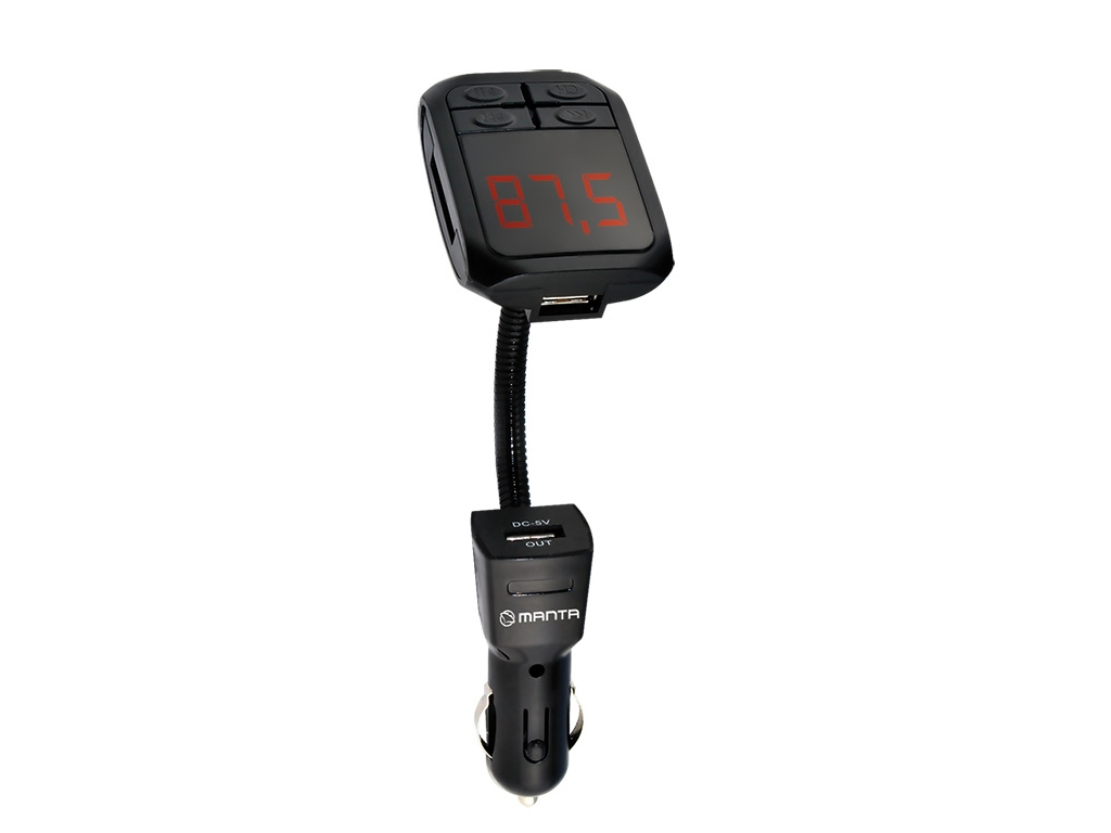 Manta Πομπός Μετάδοσης Μουσικής μέσω FM/Ραδιοφώνου για το Αυτοκίνητο από Smartph gps και είδη αυτοκινήτου   ηχοσυστήματα αυτοκινήτου