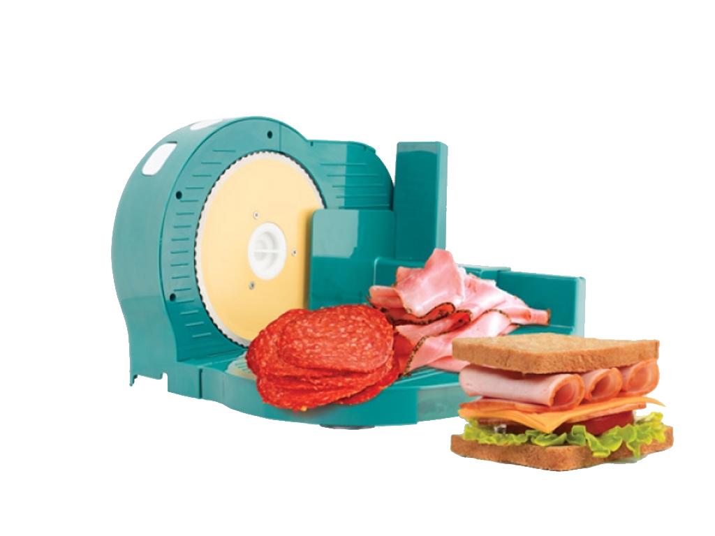 Electric Food Slicer Κόφτης Αλλαντικών 150W σε Μπλε χρώμα, B1565182 - ELECTRIC F για την κουζίνα   κουζινομηχανές πολυκόφτες