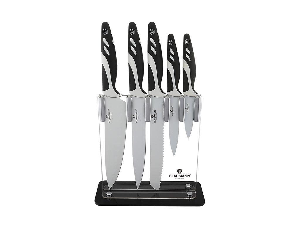 Blaumann Σετ Μαχαίρια Κουζίνας 6 τεμ. από Ανοξείδωτο ατσάλι με Αντικολλητική Αντ αξεσουάρ και εργαλεία κουζίνας   μαχαίρια κουζίνας