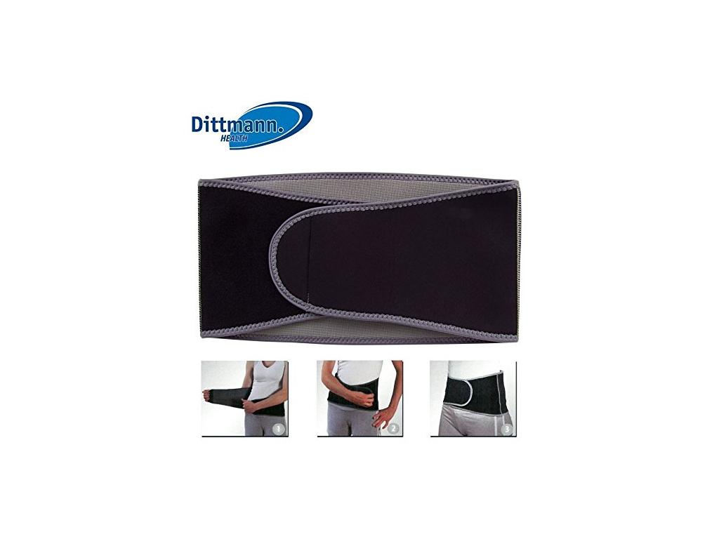 Dittmann Ζώνη Υποστήριξης για τη μέση 90-125 cm, ZBL 337 - Dittmann υγεία  και  ομορφιά   αντιμετώπιση πόνου