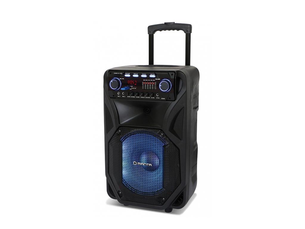 Manta HERAKLES Ηχεία Καραόκε 4000 P.M.P.O. Bluetooth με LED φωτισμό, FM/Ράδιο κα τεχνολογία   ηχεία