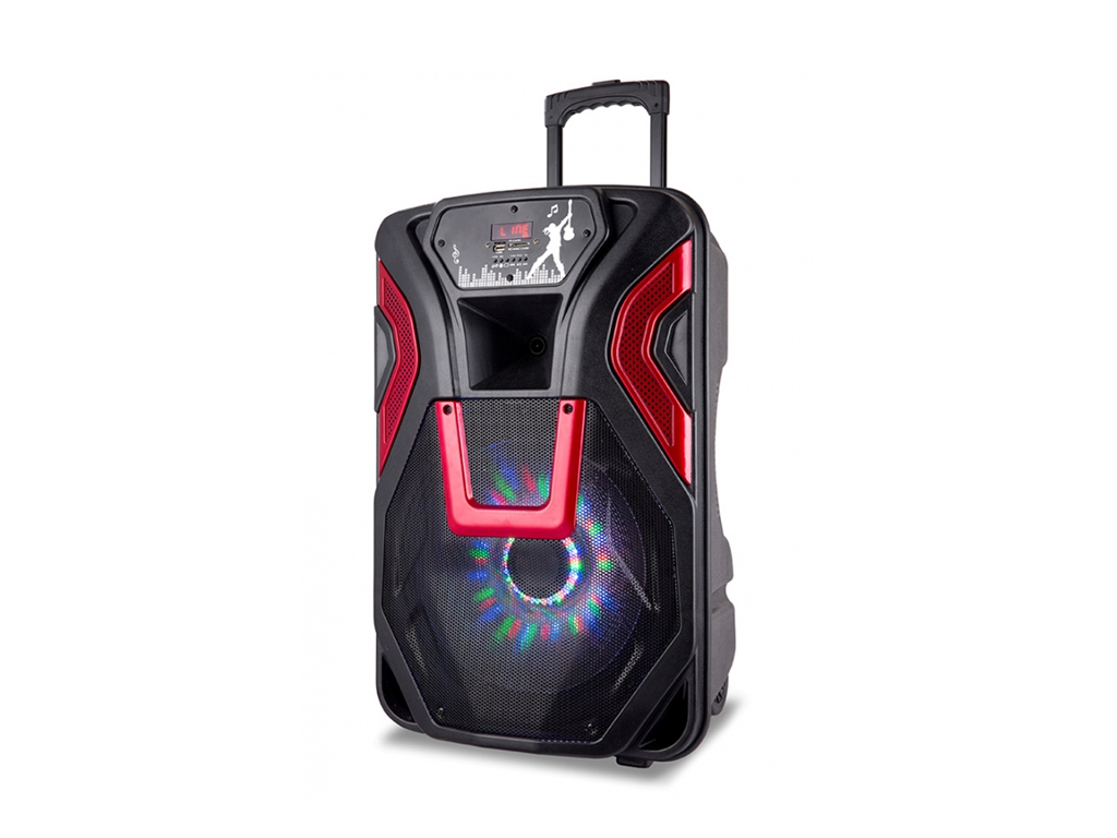 Manta HYPNOS Karaoke Ηχοσύστημα για καραόκε 4000 P.M.P.O. Bluetooth με LED φωτισ τεχνολογία   ηχεία