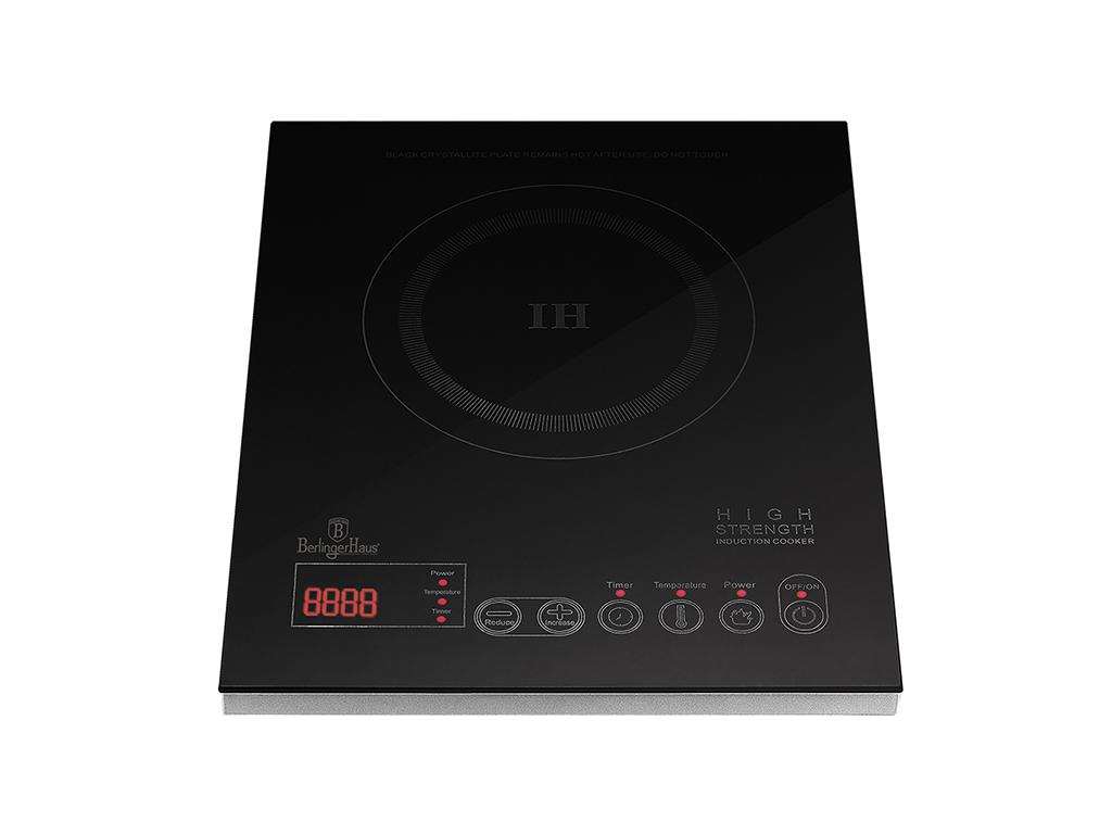 Berlinger Haus Μονή Επαγωγική Εστία - Induction cooker 1800W με 10 επίπεδα θερμο μικροσυσκευές   ηλεκτρικές εστίες