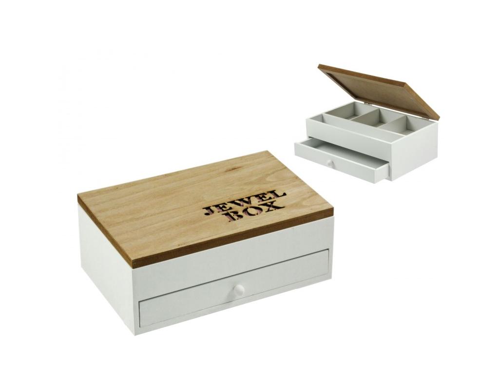 """Arti Casa Ξύλινο Κουτί αποθήκευσης """"Jewel Box"""" σε Ροζ χρώμα 24x16x9cm για τα Κοσ οργάνωση σπιτιού   κουτιά αποθήκευσης"""